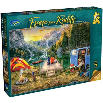 Picture of Holdson Bargain Puzzle - Escape from Reality 1000pc (Wanderlust Camping)