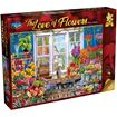Picture of Holdson Bargain Puzzle - The Love of Flowers, 1000pc (Flower Shoppe)