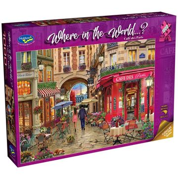 Picture of Holdson Bargain Puzzle - Where in the World 1000pc (Cafe Des Paris)