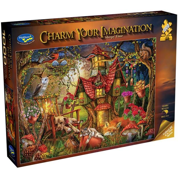 Picture of Holdson Bargain Puzzle - Charm Your Imagination, 1000pc (Sleepy Time)