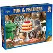 Picture of Holdson Bargain Puzzle - Fur & Feathers, 1000pc (Cream Cake Cats)