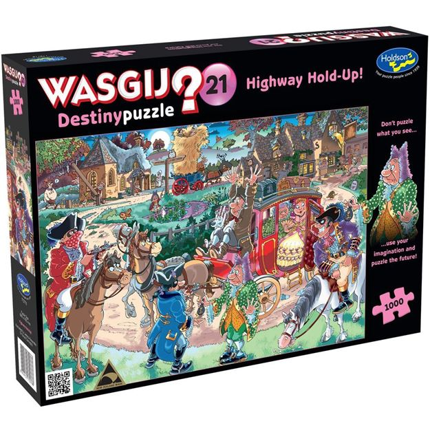Picture of Holdson Puzzle - Wasgij Destiny 21 1000pc (Highway Hold-Up!)
