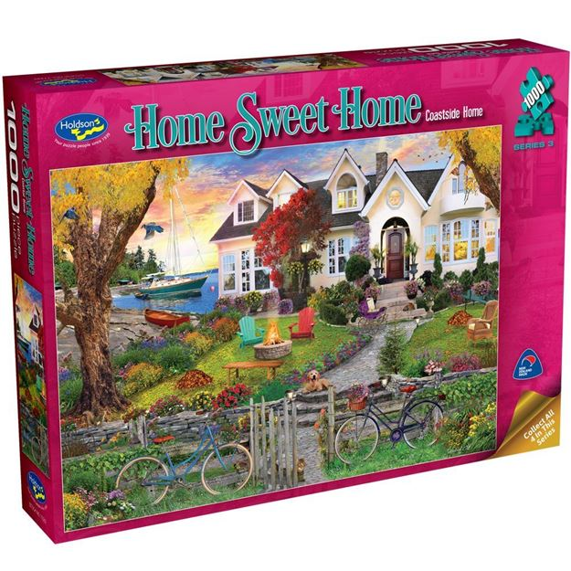 Picture of Holdson Puzzle - Home Sweet Home S3 1000pc (Coastside Home)