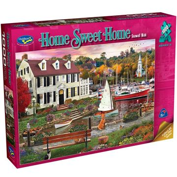 Picture of Holdson Puzzle - Home Sweet Home S3 1000pc (Seawall Walk)