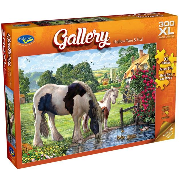 Picture of Holdson Puzzle - Gallery S7 300pc XL (Hadlow Mare & Foal)
