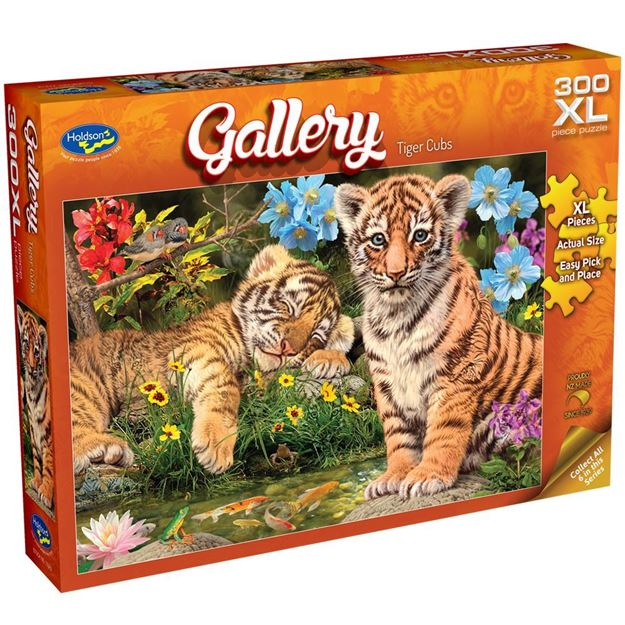 Picture of Holdson Puzzle - Gallery S7 300pc XL (Tiger Cubs)