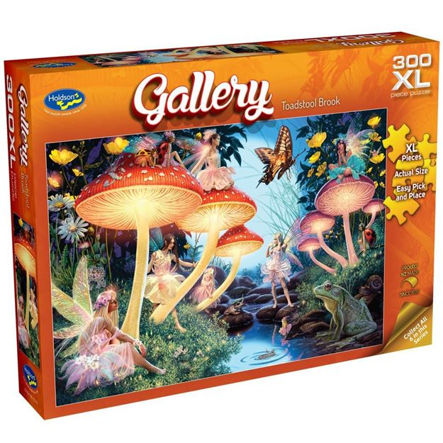 Picture of Holdson Puzzle - Gallery S7 300pc XL (Toadstool Brook)