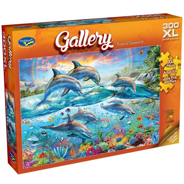 Picture of Holdson Puzzle - Gallery S7 300pc XL (Tropical Seaworld)