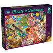 Picture of Holdson Puzzle - Treats N Treasures S3 - (1960's Flower Power)