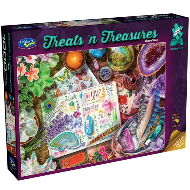 Picture of Holdson Puzzle - Treats N Treasures S3 - (Happy Vibes)