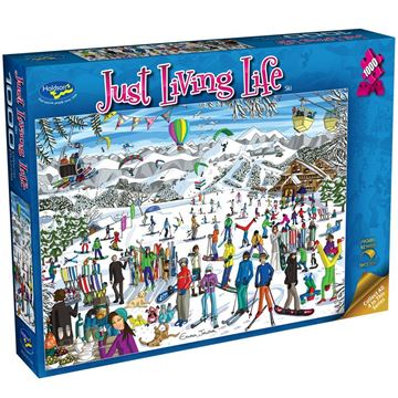 Picture of Holdson Puzzle - Just Living Life 1000pc (Ski)