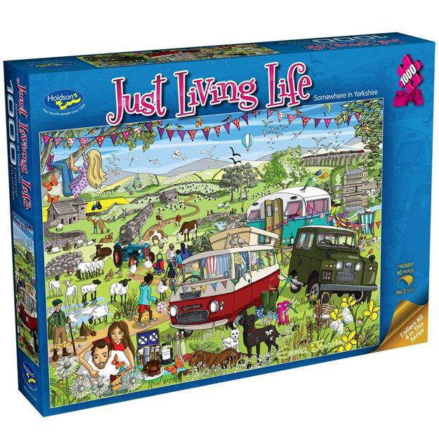 Picture of Holdson Puzzle - Just Living Life 1000pc (Somewhere in Yorkshire)