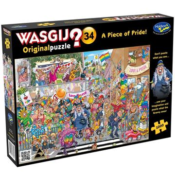 Picture of Holdson Puzzle - Wasgij Original 34 1000pc (A Piece of Pride!)