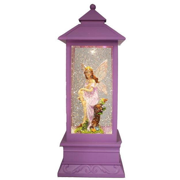 Picture of Cotton Candy Purple Lantern - Fairy