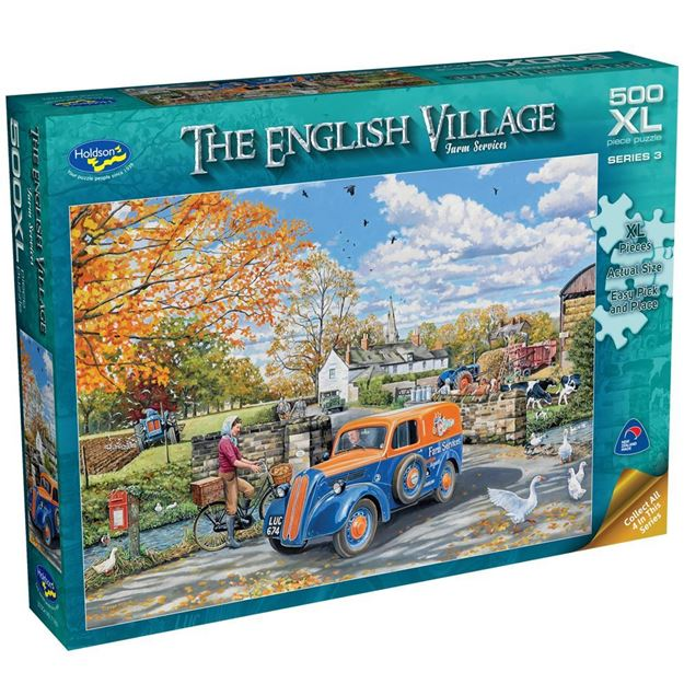 Picture of Holdson Puzzle - The English Village Series 3  XL(Farm Service)