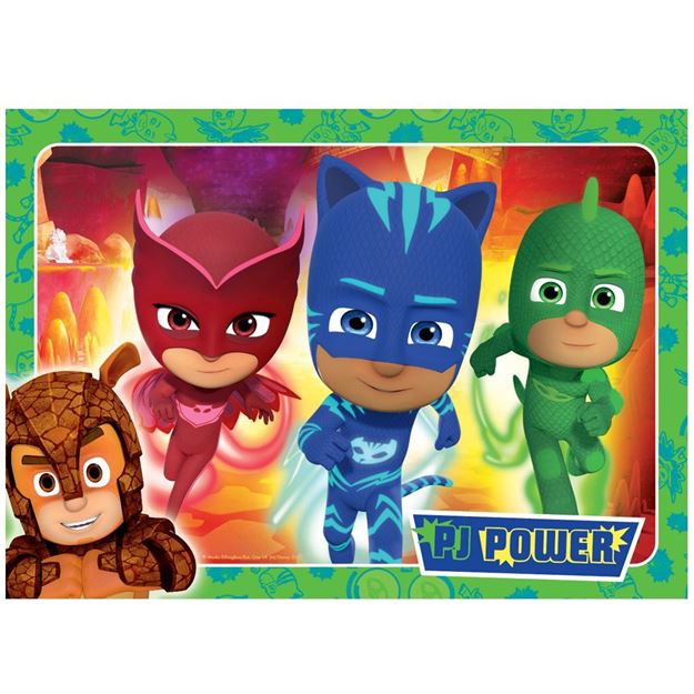 Picture of Holdson Puzzle - Set of Four PJ Masks S3, 35pc Frame Tray Series