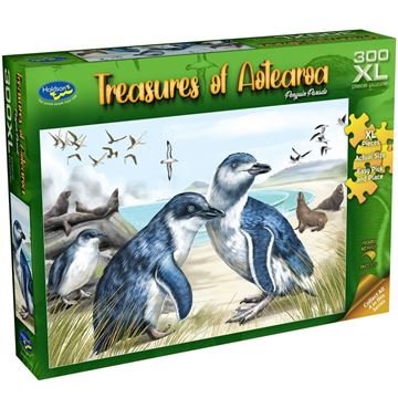 Picture of Holdson Puzzle - Treasures of Aotearoa S1 300XL pc (Penguin Parade)
