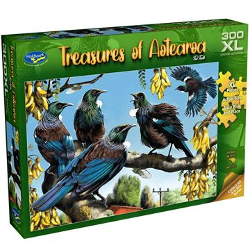 Picture of Holdson Puzzle - Treasures of Aotearoa S1 300XL pc (Tui Talk)