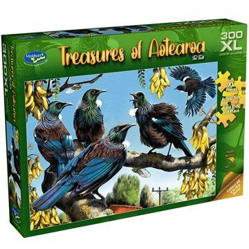 Picture of Holdson Puzzle - Treasures of Aotearoa S1 300XL pc (Tui Talk)