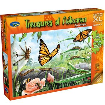 Picture of Holdson Puzzle - Treasures of Aotearoa S2 300XL pc (Bugs & Butterflies)