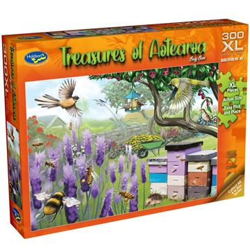Picture of Holdson Puzzle - Treasures of Aotearoa S2 300XL pc (Busy Bees)