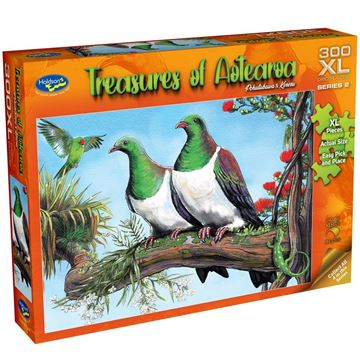 Picture of Holdson Puzzle - Treasures of Aotearoa S2 300XL pc (Pohutukawa & Kereru)