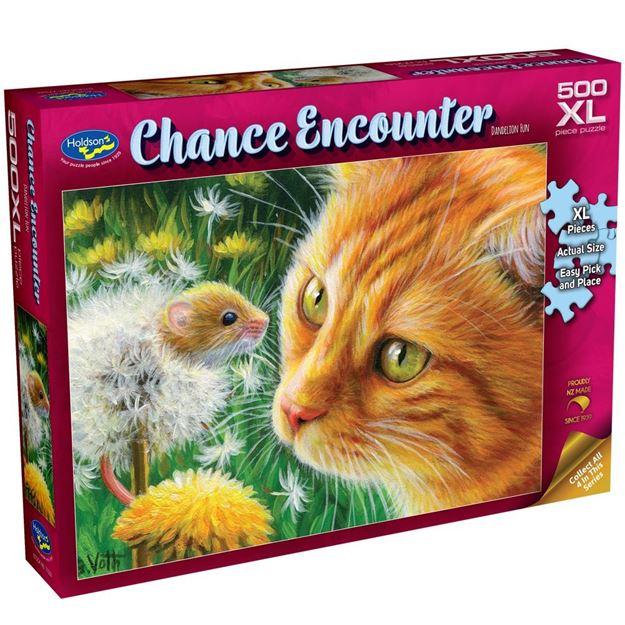 Picture of Holdson Puzzle - Chance Encounter 500XL pc (Dandelion Fun)