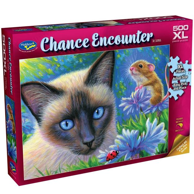 Picture of Holdson Puzzle - Chance Encounter 500XL pc (The Ladybug)