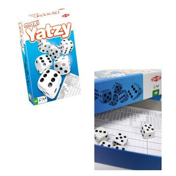 Picture of Game - Maxi Yatzy Dice Game