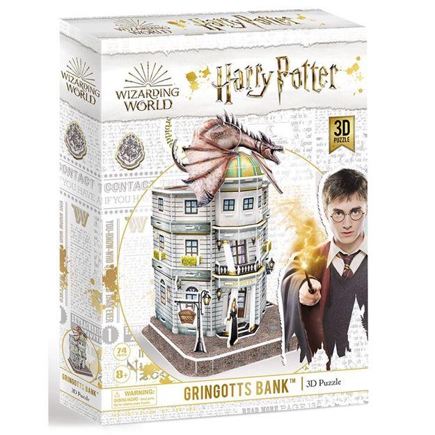Picture of 3D Puzzle - Harry Potter, Gringotts Bank
