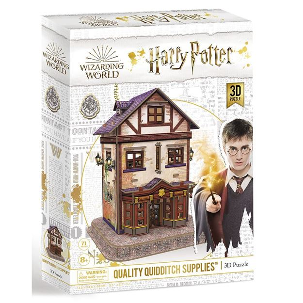 Picture of 3D Puzzle - Harry Potter, Quidditch Supplies