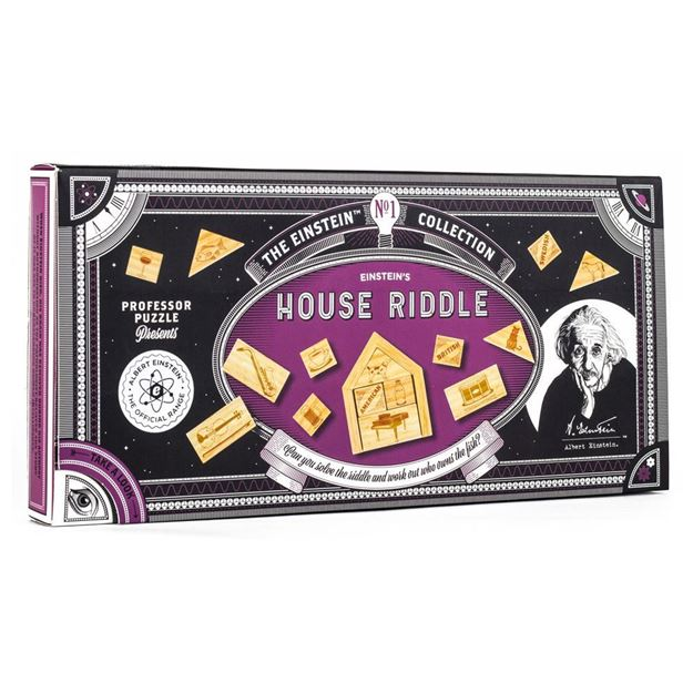 Picture of Professor Puzzle - House Riddle Puzzle