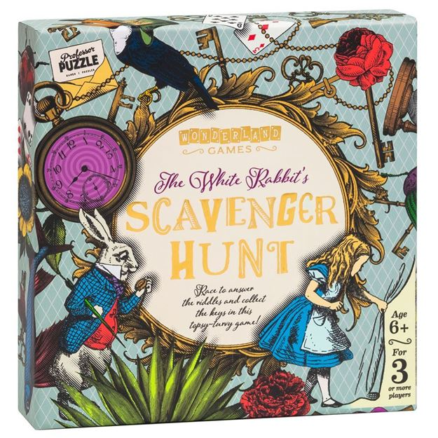 Picture of Professor Puzzle - The White Rabbit's Scavenger Hunt