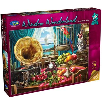 Picture of Holdson Puzzle - Window Wonderland 1000pc (Squawks & Sails)