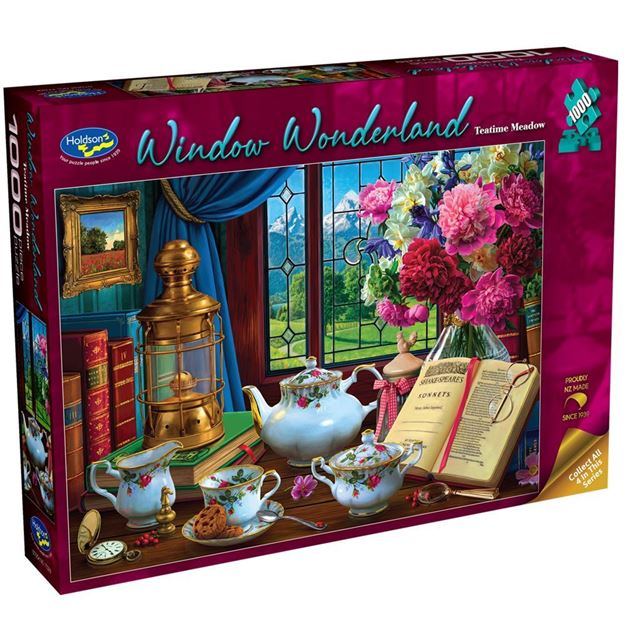 Picture of Holdson Puzzle - Window Wonderland 1000pc (Teatime Meadow)