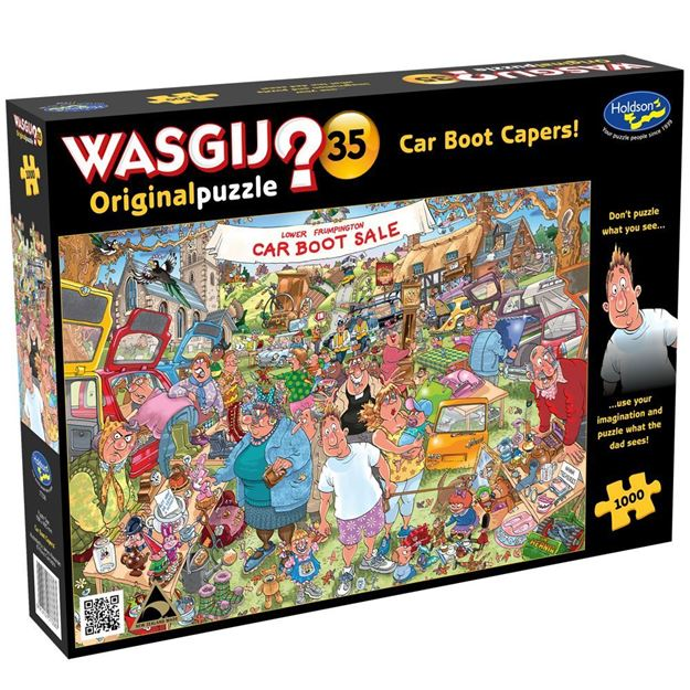 Picture of Holdson Puzzle - Wasgij Original 35, 1000pc (Car Boot Capers)