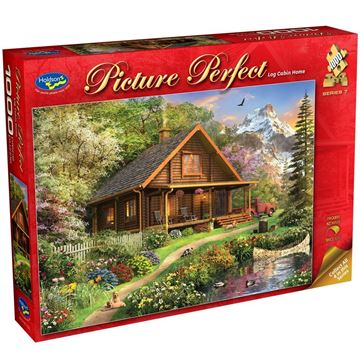 Picture of Holdson Puzzle - Picture Perfect S7 1000pc (Log Cabin Home)