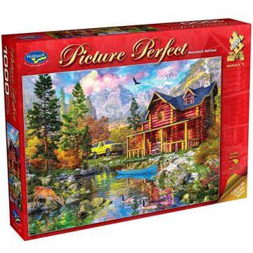 Picture of Holdson Puzzle - Picture Perfect S7 1000pc (Mountain Retreat)