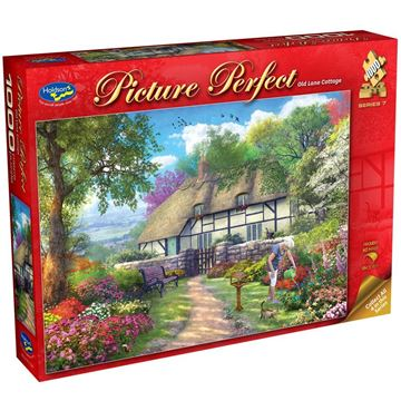 Picture of Holdson Puzzle - Picture Perfect S7 1000pc (Old Lane Cottage)