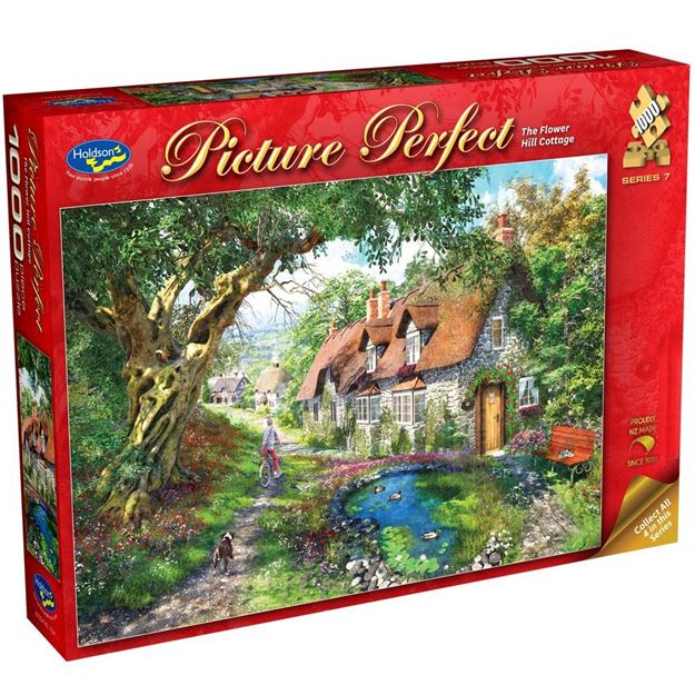 Picture of Holdson Puzzle - Picture Perfect S7 1000pc (The Flower Hill Cottage)