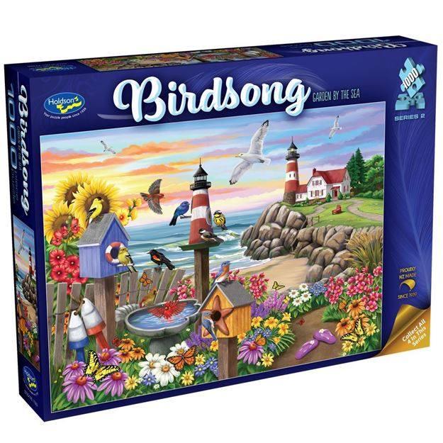 Picture of Holdson Puzzle - Birdsong S2, 1000pc (Garden By The Sea)