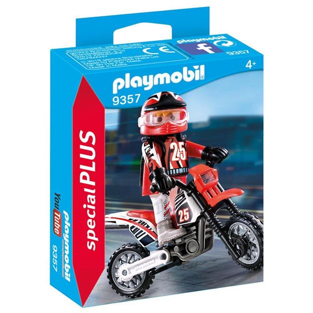 Picture of Playmobil - Motorcross Driver