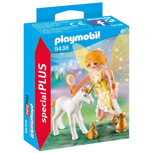 Picture of Playmobil - Sun Fairy with Unicorn Foal