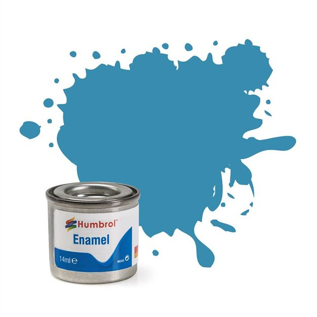 Picture of Humbrol - Mediterranean Blue Gloss