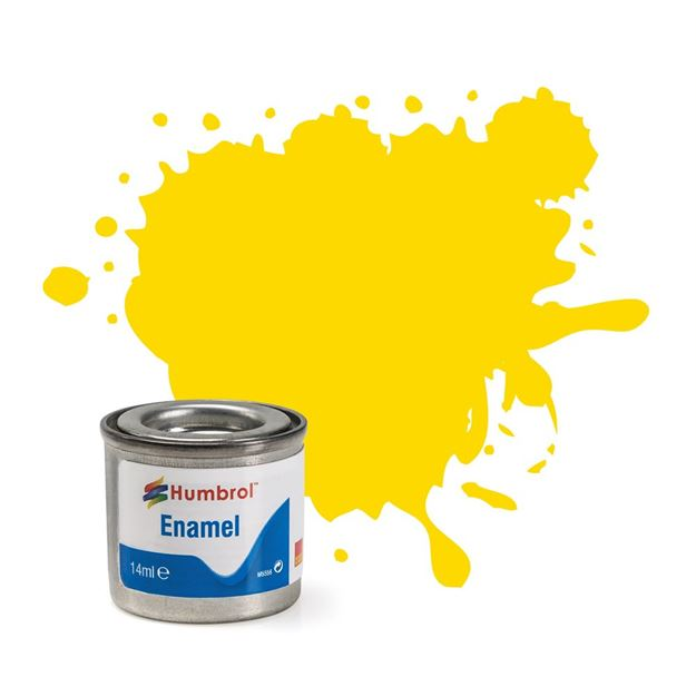 Picture of Humbrol - Yellow Gloss