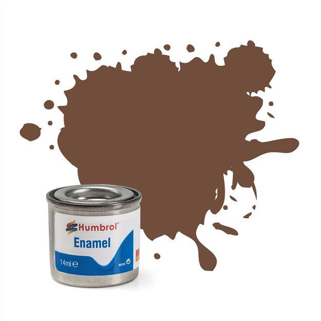 Picture of Humbrol - Chocolate Matt