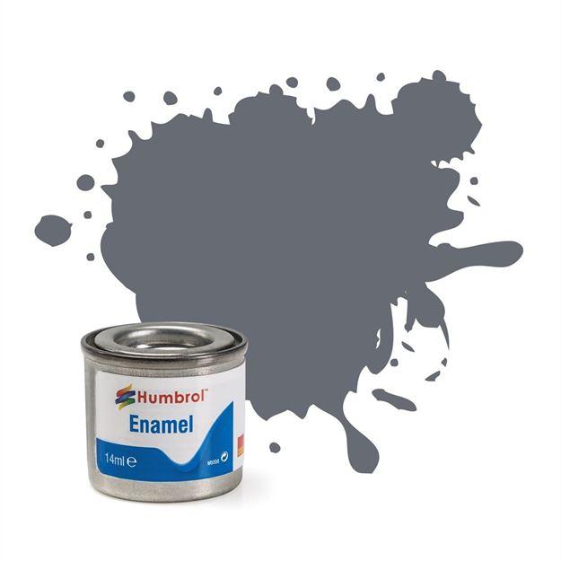 Picture of Humbrol - Extra Dark Sea Grey Satin