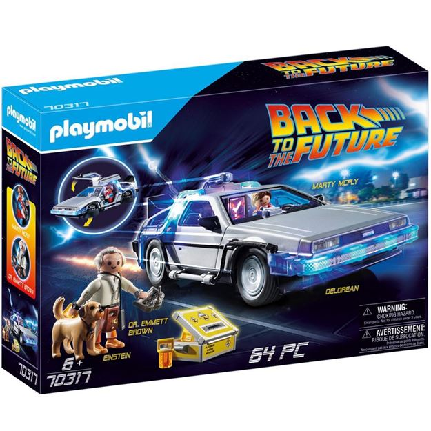 Picture of Playmobil - Back to the Future - Delorean