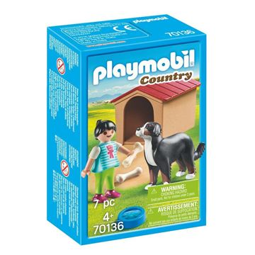 Picture of Playmobil - Dog with Doghouse