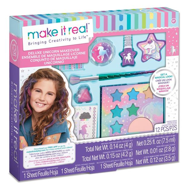 Picture of Make it Real - Deluxe Unicorn Makeover Set